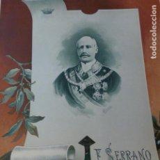 Arte: FRANCISCO SERRANO CROMOLITOGRAFIA SIGLO XIX 22 X 32 CMTS. Lote 225770250