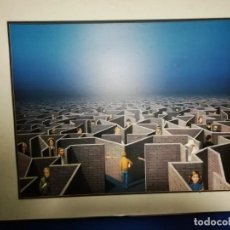 Arte: TITO SALOMONI (1928 PONTELAGOSCURO, ITALIA-1989 TURÍN) IMPRESIÓN 60X75CMS, FIRMA PLANCHA. ENMARCADA. Lote 229760825