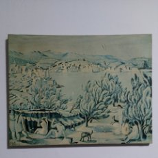 Arte: SALVADOR DALI 1923 CADAQUES GIRONA POST IMPRESIONISMO. Lote 230399335