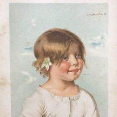 Art: LOTE CON 4 CROMOLITOGRAFÍAS ALEMANAS, CON FECHA DE 1887. Lote 239507145
