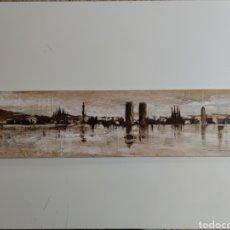 Arte: PINTURA SOBRE TABLA. Lote 243279120