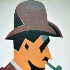 Art: MANOLO VALDÉS - EL JUGADOR DE CARTAS (1987). Lote 246879330