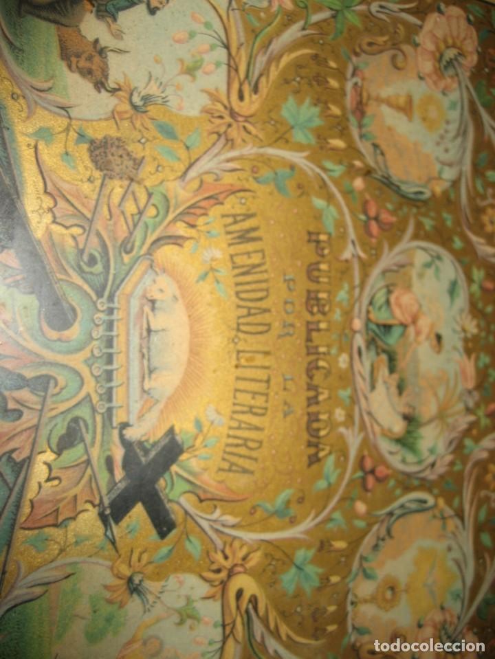 Arte: preciosa litografia del libro mugeres de la biblia . amenidad literaria . enmarcada marco mujeres - Foto 4 - 247193165