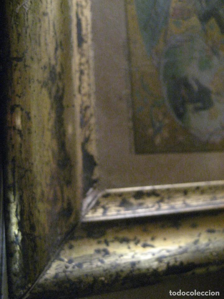 Arte: preciosa litografia del libro mugeres de la biblia . amenidad literaria . enmarcada marco mujeres - Foto 7 - 247193165
