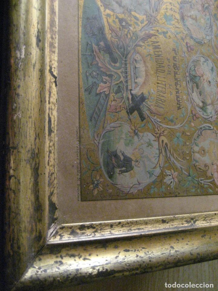 Arte: preciosa litografia del libro mugeres de la biblia . amenidad literaria . enmarcada marco mujeres - Foto 8 - 247193165