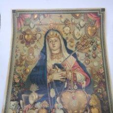 Art: LAMINA MATER DOLOROSA IN MONTE CALVARIO VENERATA. Lote 248152510