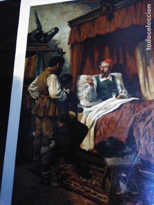 Arte: 3 Cromolitografias antiguas de Don Quijote de la Mancha - Foto 4 - 253746380