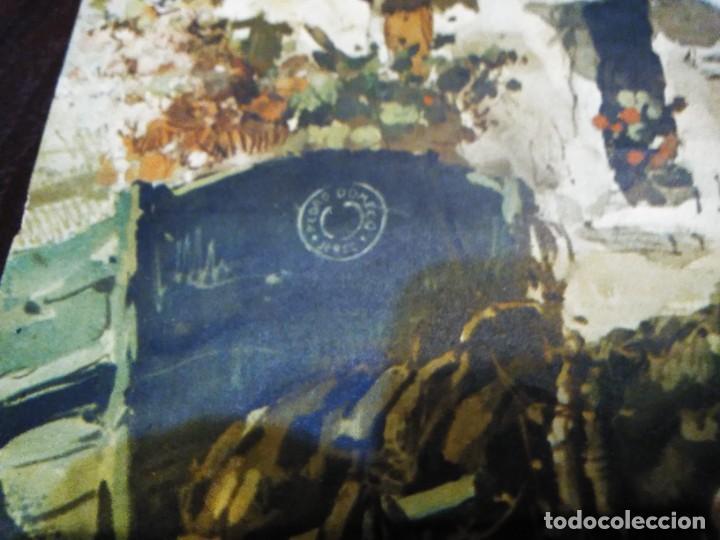 Arte: Cromolitografia antigua de JUAN LARA - FUNDADOR DOMECQ - Foto 7 - 184760088