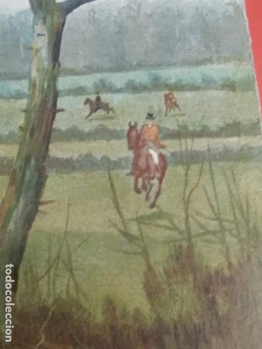 Arte: Dos grabados, cacería hípica, firmados George Derville Rowlandson - Foto 30 - 254993025