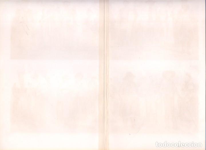 Arte: HISTORIA DEL VESTIDO TRAJES TÍPICO ALEMANES (VOLKSTRACHTEN) CROMOLITOGRAFÍA MEYERS LEXIKON 1895 - Foto 5 - 255956370