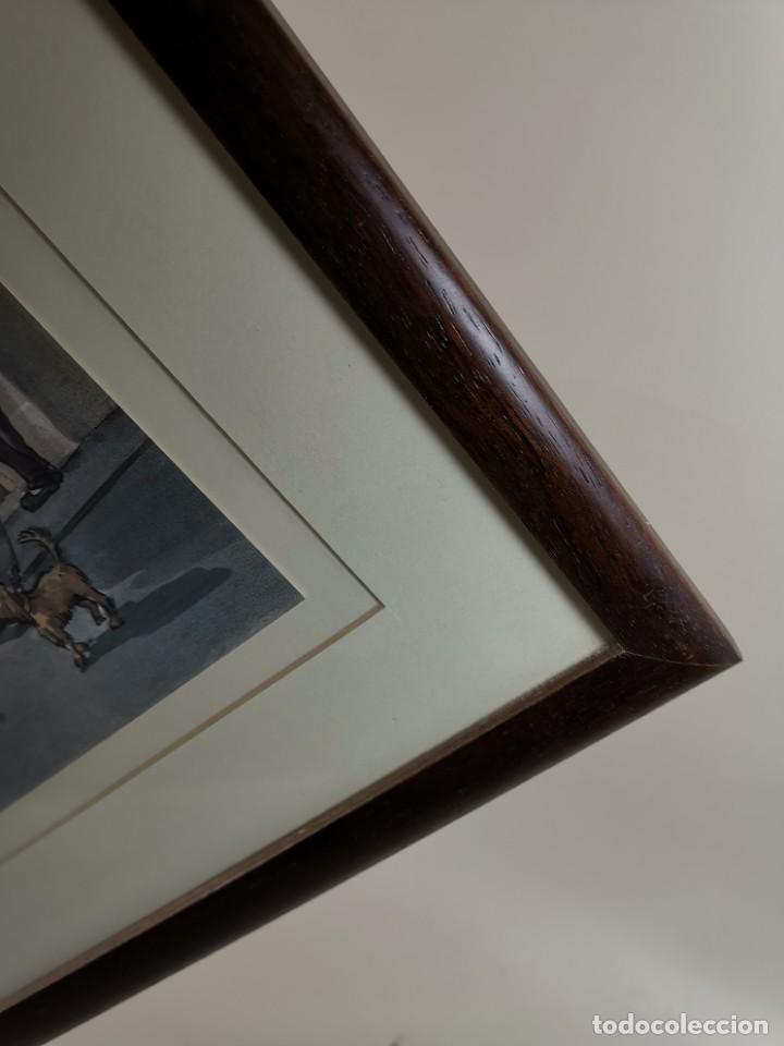 Arte: LAMINA DIBUJO DE 1ª TROBADA PUNTAIRES EN ACTUAL XOCOLATERIA PLAÇA NOVA EL VENDRELL-FIRMADO - Foto 13 - 255960295