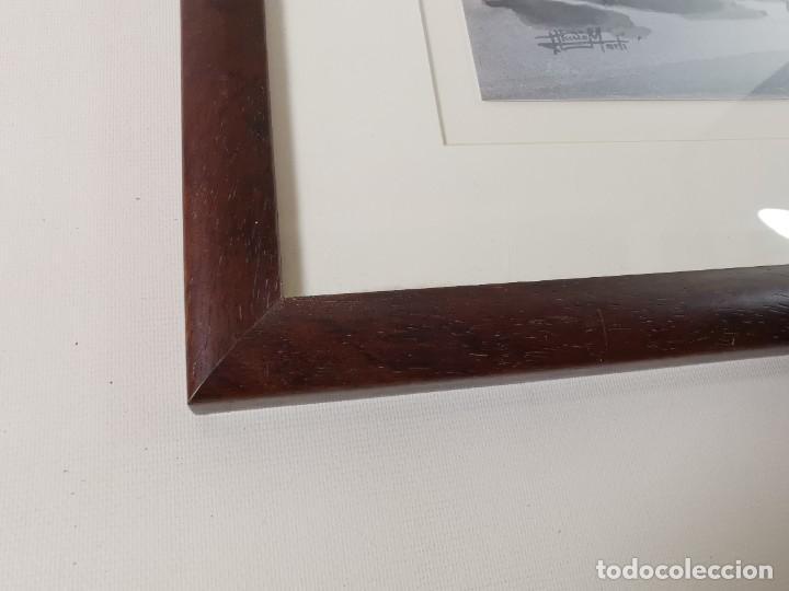 Arte: LAMINA DIBUJO DE 1ª TROBADA PUNTAIRES EN ACTUAL XOCOLATERIA PLAÇA NOVA EL VENDRELL-FIRMADO - Foto 17 - 255960295