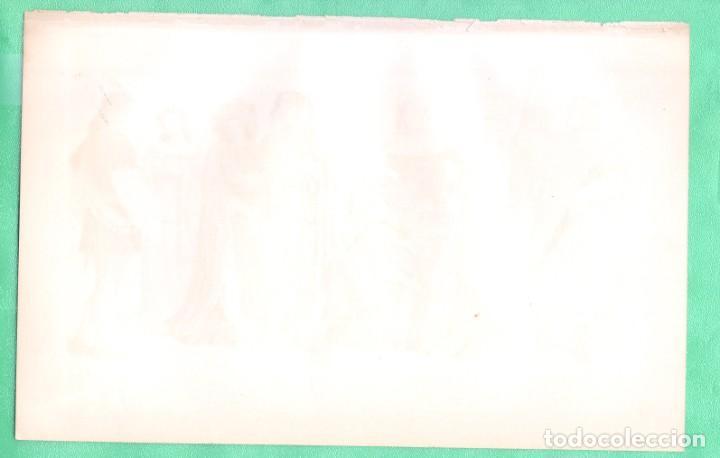 Arte: HISTORIA DEL VESTIDO EDAD MEDIA (KOSTÜME II: MITTELALTER) CROMOLITOGRAFÍA BROCKHAUS LEXIKON 1893 - Foto 2 - 255961630