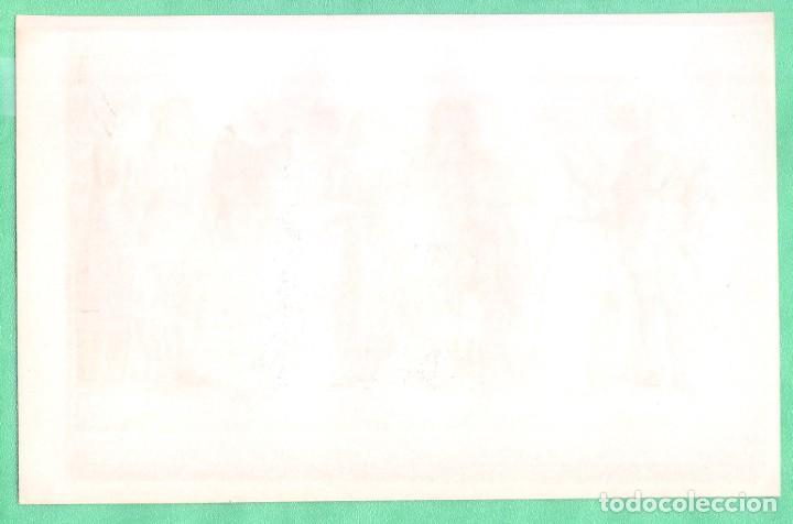 Arte: HISTORIA DEL VESTIDO SIGLO XVI (KOSTÜME III: 16. JAHRHUNDERT) CROMOLITOGRAFÍA BROCKHAUS LEXIKON 1893 - Foto 2 - 255962355