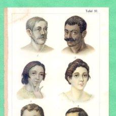 Arte: MEDICINA NATUROPATÍA ENVENENAMIENTO CON MERCURIO CROMOLITOGRAFÍA BILZ NATURHEILVERFAREN 1890. Lote 256010515