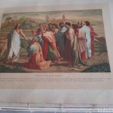 Arte: PRECIOSA CROMOLITOGRAFIA DE 1881, MISIÓN DE SAN PEDRO. Lote 261523625