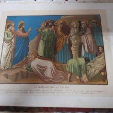 Arte: ANTIGUA CROMOLITOGRAFIA DE 1881. Lote 262510900