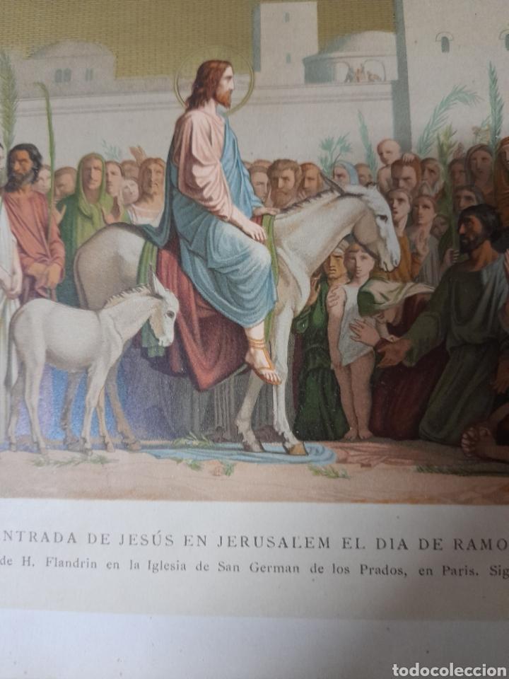 Arte: Antigua cromolitografia de 1881 - Foto 2 - 262511300
