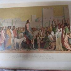 Arte: ANTIGUA CROMOLITOGRAFIA DE 1881. Lote 262511300