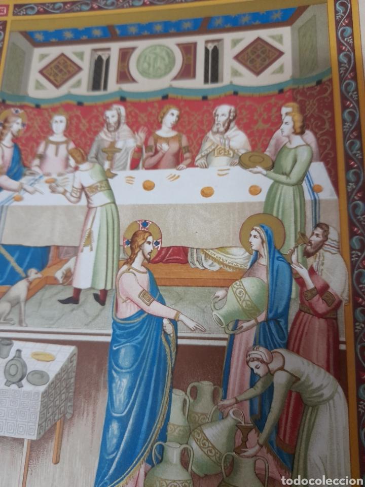 Arte: Las bodas de Canaa ,Antigua cromolitografia de 1881 - Foto 3 - 262513640