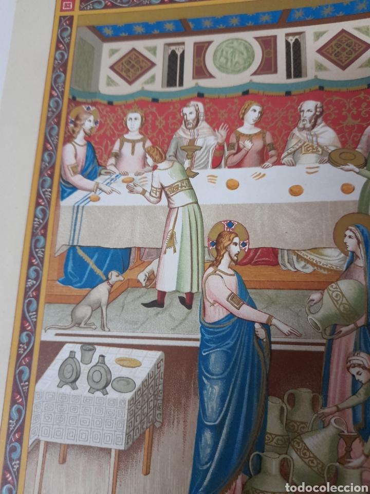 Arte: Las bodas de Canaa ,Antigua cromolitografia de 1881 - Foto 4 - 262513640