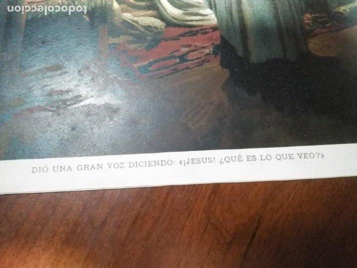 Arte: 3 Cromolitografias antiguas de Don Quijote de la Mancha - Foto 15 - 253746380