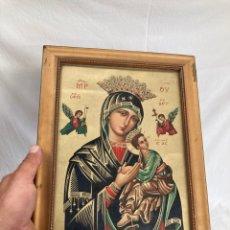Art: ANTIGUA CROMOLITOGRAFIA RELIGIOSA!. Lote 268781539