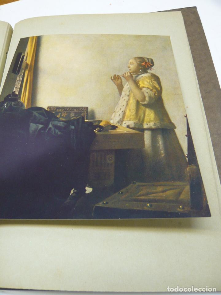 Arte: Johannes Vermeer van Delft (1632-1675) - antigua bella carpeta alemana - cromolitografías ARTE - Foto 6 - 288724593