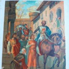 Arte: BERENGUER OLLER BARCELONA ANTIGUA CROMOLITOGRAFIA SIGLO XIX 23 X 33 CMTS. Lote 289625893