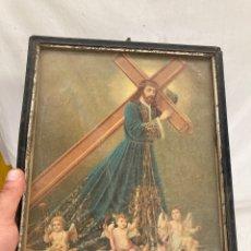 Arte: PRECIOSA CROMOLITOGRAFIA RELIGIOSA!. Lote 290608668