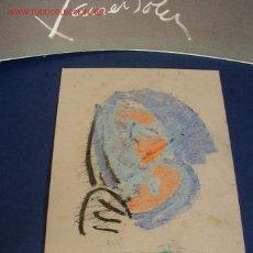 Arte: APUNTE Ó BOSQUEJO DE UN PINTOR ALICANTINO. Lote 18507089