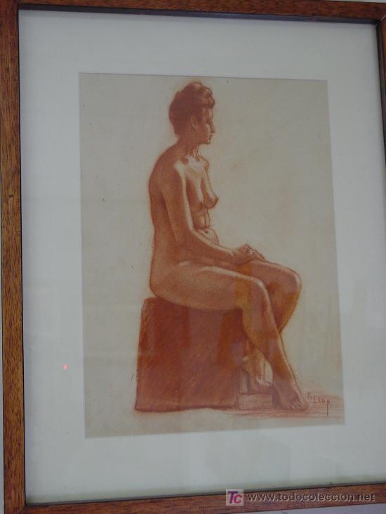 Arte: Tortosa ,Francesc Llop- Desnudo femenino - Foto 1 - 23567294