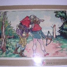 Arte: DIBUJO ORIGINAL A COLOR DE XIRINIUS ( NO COPIA ). Lote 13817440