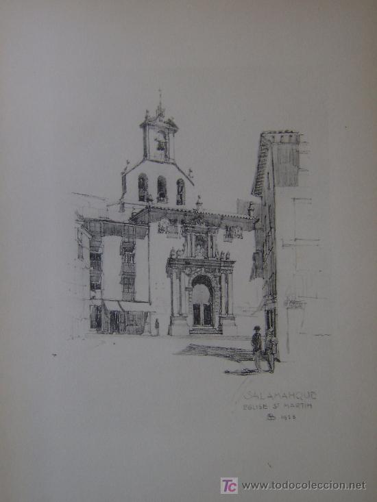 iglesia de san martin salamanca  dibujo a la  Comprar Dibujos