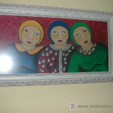 Arte: TRES MUJERES. Lote 27055403