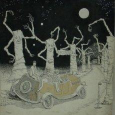 Arte: ECHEGARAY, DIBUJO FIRMADO ECHEGARAY AÑO 1977. Lote 26627190