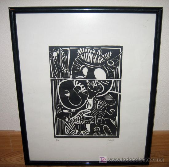 dibujo abstracto firmado por el artista palow - - Comprar Dibujos ...