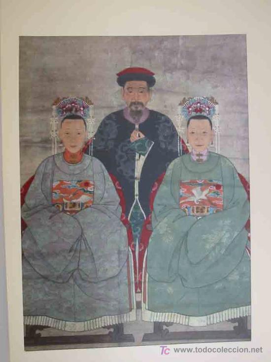Arte: ANTIGUOS RETRATOS CHINOS. Texto NEBBIA Ugo. 16 h texto + 10 retratos en seda a color. 1975 - Foto 18 - 13755553