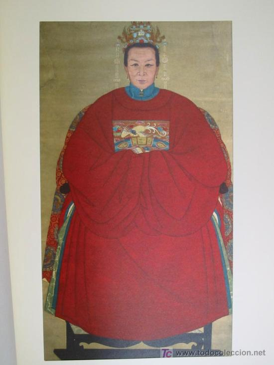 Arte: ANTIGUOS RETRATOS CHINOS. Texto NEBBIA Ugo. 16 h texto + 10 retratos en seda a color. 1975 - Foto 17 - 13755553