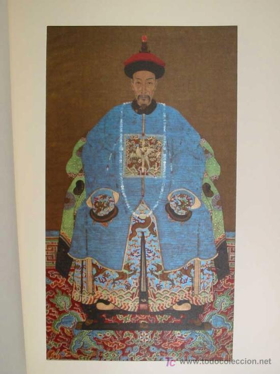 Arte: ANTIGUOS RETRATOS CHINOS. Texto NEBBIA Ugo. 16 h texto + 10 retratos en seda a color. 1975 - Foto 16 - 13755553