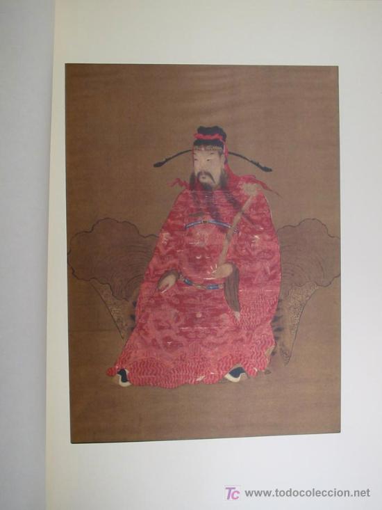 Arte: ANTIGUOS RETRATOS CHINOS. Texto NEBBIA Ugo. 16 h texto + 10 retratos en seda a color. 1975 - Foto 11 - 13755553