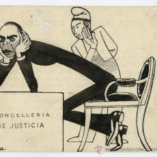 Arte: APA. FELIU ELIES. CIRCA 1927. CARICATURA SATÍRICA POLÍTICA.. Lote 24682059