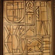 Arte: COMPOSICIÓN ASTRACTA FDO J.T.G ( ATRIB, A J. TORRES GARCIA ). Lote 16407270