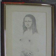 Arte: CALVO, RICARD CALVO DURAN. PINTOR, DIBUJANTE, GRABADOR E ILUSTRADOR NACIDO EN 1940 EN SABADELL.. Lote 26627195