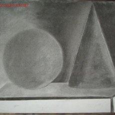 Arte: DIBUJO A CARBONCILLO ORIGINAL. 50X70CMS. Lote 26096970
