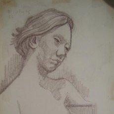 Arte: COLOR SOBRE PAPEL - FIRMADO - FLOTATS (FLOTATS NACIDO EN BARCELONA AÑO 1917). Lote 22866708