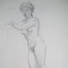 Arte: LÁPIZ SOBRE PAPEL - FIRMADO - FLOTATS (FLOTATS NACIDO EN BARCELONA AÑO 1917). Lote 22866721