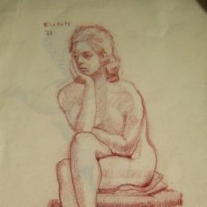 Arte: COLOR SOBRE PAPEL - FIRMADO - FLOTATS 76. (FLOTATS NACIDO EN BARCELONA AÑO 1917). Lote 20345482