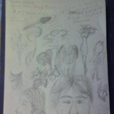 Arte: SOFIA MARTIN DIBUJOS ORIGINALES A LAPIZ. Lote 26555672