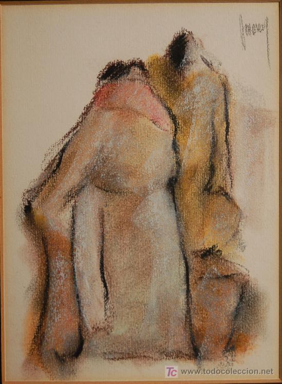 DIBUJO ORIGINAL FIRMADO (Arte - Dibujos - Contemporáneos siglo XX)